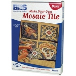Blue Hills Studio™ Make Your Own Mosaic Tile - Dark: Multi, Stone (Cuttable), Tile
