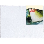 "Arches 22"" x 30"" 140 lb./300g Cold Press Watercolor Sheets Bright White"