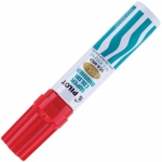 Pilot®  Super Color Permanent Jumbo Chisel Marker Red: Red/Pink, Chisel Nib, (model SC45300), price per each