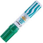 Pilot®  Super Color Permanent Jumbo Chisel Marker Green: Green, Chisel Nib, (model SC45400), price per each