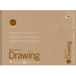 "Strathmore® 200 Series Skills 18"" x 24"" Wire Bound Drawing Pad: White/Ivory, Pad, 40 Sheets, 18"" x 24"", Drawing, (model ST20-028), price per 40 Sheets pad"