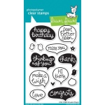 Lawn Fawn Stamp Set: Chit Chat
