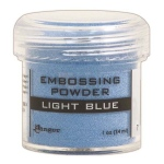 Ranger Opaque/Shiny Embossing Powders: Light Blue