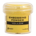 Ranger Opaque/Shiny Embossing Powders: Yellow