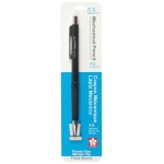 Sakura® XS Fixed Sleeve Mechanical Pencils 0.5mm: Blister-carded, Black/Gray, .5mm, Mechanical, (model 50297), price per set