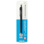 Sakura® XS Fixed Sleeve Mechanical Pencils 0.7mm: Blister-carded, Black/Gray, .7mm, Mechanical, (model 50298), price per set