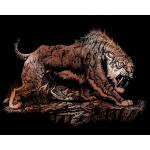 "Royal & Langnickel® Engraving Art Set Copper Sabretooth: 8"" x 10"", Metallic, (model COPF26), price per set"