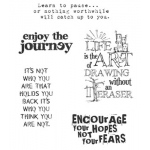 Stampers Anonymous Tim Holtz Cling Mounted Stamps: Just Thoughts