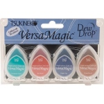 Tsukineko VersaMagic Dew Drops: Southwest, Pack of 4