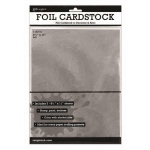"Ranger Surfaces Silver Foil Cardstock: 8.5"" x 11"", Pack of 3"