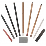 Heritage Arts™ 10-Piece Drawing Set: Drawing, (model HDGSET10), price per set