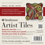 "Strathmore® 6"" x 6"" Watercolor Artist Tiles: White/Ivory, Tile, 10 Tiles, 6"" x 6"", Cold Press, Watercolor, 140 lb"