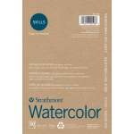 "Strathmore® 200 Series Skills 6"" x 9"" Tape Bound Watercolor Pad: White/Ivory, Pad, 30 Sheets, 6"" x 9"", Watercolor"
