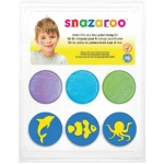 Snazaroo™ Under The Sea Face Paint Stamp Kit: Stamp, (model 1185047), price per each