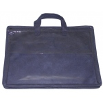 "Alvin® 12"" x 16"" Nylon & Vinyl Tool Case: Blue, Nylon, 10"" x 13"", Case, (model NPK1216), price per each"