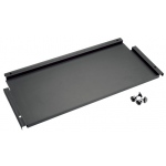 "Alvin® Onyx 9"" Deep Storage Shelf for Onyx Tables: Black/Gray, Steel, 9""l x 26 3/4""w, 9"""