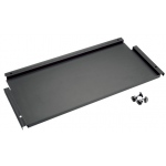"Alvin® Onyx 12"" Deep Storage Shelf for Onyx Tables: Black/Gray, Steel, 12""l x 26 3/4""w, 12"""