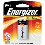 Energizer® MAX® MAX® 9V Battery: Batteries, (model EBC522), price per each