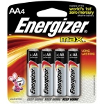 Energizer® MAX® MAX® AA Battery 4pk: Batteries, (model EBC91), price per pack