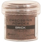 Ranger Specialty 2 Embossing Powders: Brick Formerly Rust