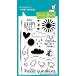 Lawn Fawn Stamp Set: Hello Sunshine