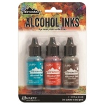 Ranger Tim Holtz Adirondack Alcohol Ink Kits: Mariner