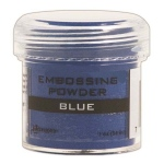 Ranger Opaque/Shiny Embossing Powders: Blue