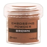 Ranger Opaque/Shiny Embossing Powders: Brown