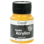 American Educational Creall Studio Acrylics: 500 ml, 07 Warm Yellow
