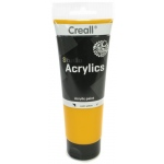 American Educational Creall Studio Acrylics Tube: 250 ml, 07 Warm Yellow