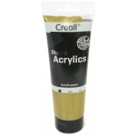 American Educational Creall Studio Acrylics Tube: 250 ml, 19 Gold
