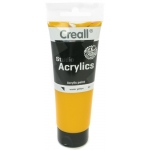American Educational Creall Studio Acrylics Tube: 120 ml, 07 Warm Yellow