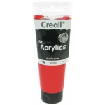 American Educational Creall Studio Acrylics Tube: 120 ml, 10 Vermillion