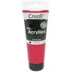 American Educational Creall Studio Acrylics Tube: 120 ml, 12 Carmine Red