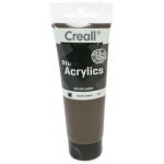 American Educational Creall Studio Acrylics Tube: 120 ml, 69 Burnt Umber