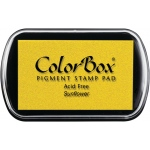 ColorBox® Full Size Pigment Ink Pad Sunflower: Yellow, Pad, Pigment, Full Size Rectangle