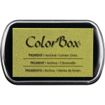 ColorBox® Full Size Pigment Ink Pad Lemon Grass: Green, Pad, Pigment, Full Size Rectangle, (model CS15187), price per each