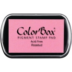 ColorBox® Full Size Pigment Ink Pad Rosebud: Red/Pink, Pad, Pigment, Full Size Rectangle, (model CS15185), price per each