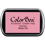 ColorBox® Full Size Pigment Ink Pad Shabby Pink: Red/Pink, Pad, Pigment, Full Size Rectangle, (model CS15195), price per each