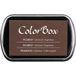 ColorBox® Full Size Pigment Ink Pad Espresso: Brown, Pad, Pigment, Full Size Rectangle, (model CS15205), price per each