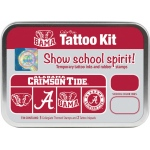 ColorBox® University of Alabama Collegiate Tattoo Kit: Tin, Stamp, (model CS19605), price per set