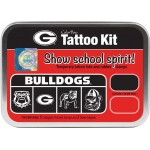 ColorBox® University of Georgia Collegiate Tattoo Kit: Tin, Stamp