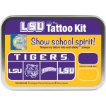 ColorBox® Louisiana State University Collegiate Tattoo Kit: Tin, Stamp, (model CS19610), price per set