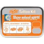 ColorBox® Oklahoma State University Collegiate Tattoo Kit: Tin, Stamp, (model CS19614), price per set