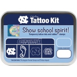 ColorBox® University of North Carolina Collegiate Tattoo Kit: Tin, Stamp, (model CS19615), price per set