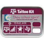 ColorBox® Texas A & M Collegiate Tattoo Kit: Tin, Stamp, (model CS19616), price per set