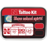ColorBox® University of Nebraska Collegiate Tattoo Kit: Tin, Stamp, (model CS19629), price per set