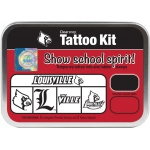 ColorBox® University of Louisville Collegiate Tattoo Kit: Tin, Stamp, (model CS19630), price per set