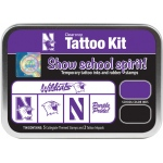 ColorBox® Northwestern University Collegiate Tattoo Kit: Tin, Stamp, (model CS19633), price per set