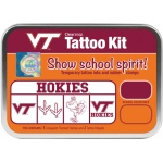 ColorBox® Virginia Tech Collegiate Tattoo Kit: Tin, Stamp, (model CS19639), price per set